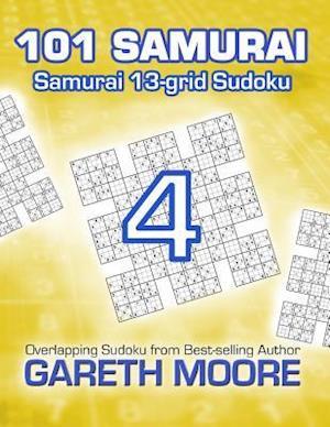 Bog, paperback Samurai 13-Grid Sudoku 4 af Gareth Moore