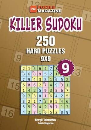 Bog, paperback Killer Sudoku - 250 Hard Puzzles 9x9 (Volume 9) af Sergii Tolmachov