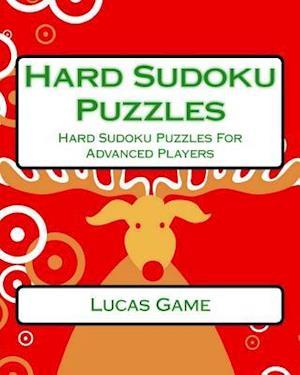 Bog, paperback Hard Sudoku Puzzles af Lucas Game