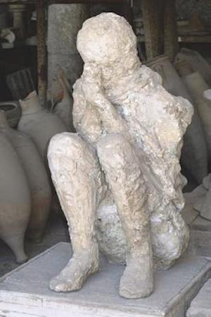 Bog, paperback Sad Death in Pompeii Journal - Victim of MT Vesuvius Eruption af Historical Image