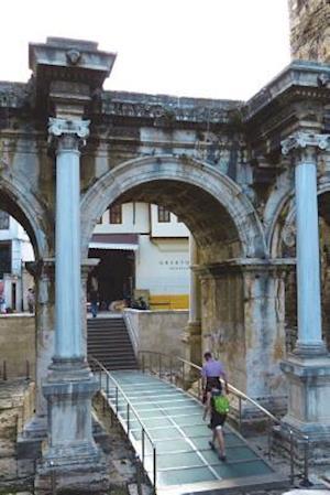 Bog, paperback Hadrian Door Old City Antalya Turkey Journal af Cool Image