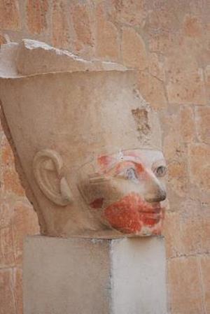 Bog, paperback Head of Queen Hatshepsut Female Pharaoh in Egypt Journal af Cool Image