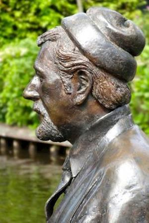 Bog, paperback A Bronze Statue of Albert Mol in a Garden af Unique Journal