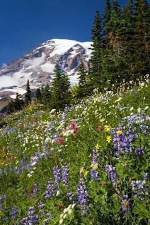 Bog, paperback Mt. Ranier and Wildflowers Cascade Mountain Range Pacific Northwest Journal af Cs Creations