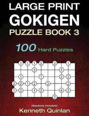 Bog, paperback Large Print Gokigen Puzzle Book 3 af Kenneth Quinlan