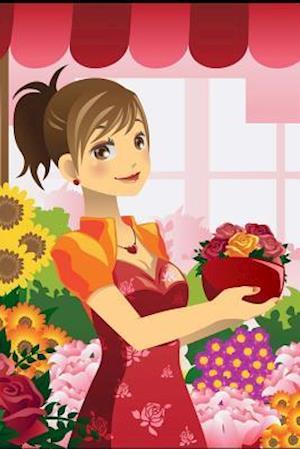 Bog, paperback Florist Girl Journal af Cool Image