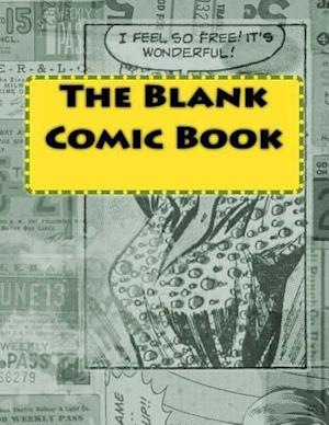 Bog, paperback The Blank Comic Book af One Jacked Monkey Publications