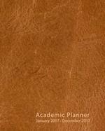 2017 Academic Planner af Beliveau Imprimer