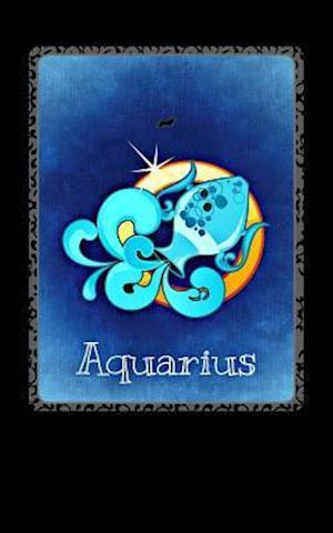 Bog, paperback Aquarius (Journal) af Horoscope Blank Notebook