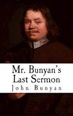 Mr. Bunyan's Last Sermon
