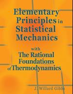 Elementary Principles in Statistical Mechanics