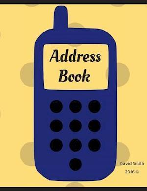 Bog, paperback Address Book af David Smith