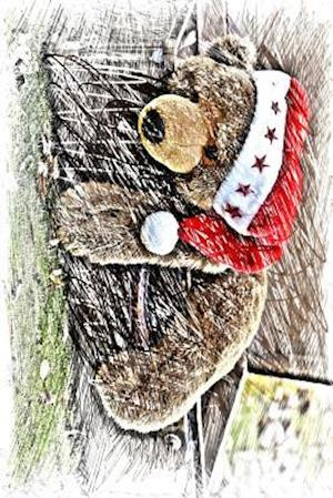Bog, paperback A Teddy Bear in a Christmas Hat af Unique Journal