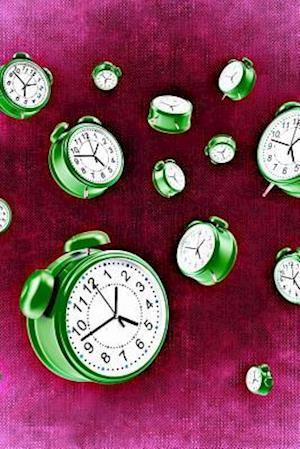 Bog, paperback Cool Alarm Clocks on Red af Unique Journal