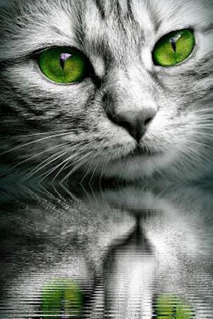 Bog, paperback Cool Cat with Green Eyes af Unique Journal