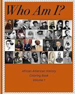 Who Am I? - African American History Coloring Book