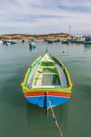 Bog, paperback Kajjik Boat at Marsaxlokk Harbor in Malta Journal af Cs Creations
