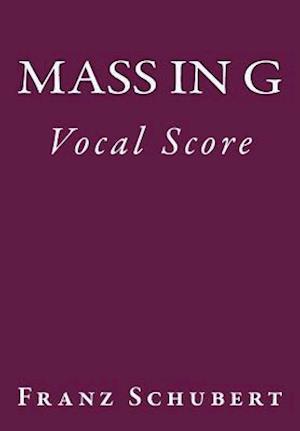 Bog, paperback Mass in G af Franz Schubert