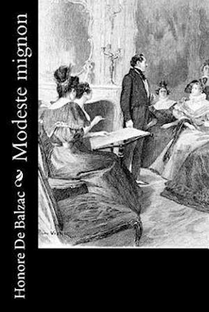 Bog, paperback Modeste Mignon af Honoré de Balzac