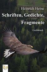 Schriften, Gedichte, Fragmente (Grossdruck)
