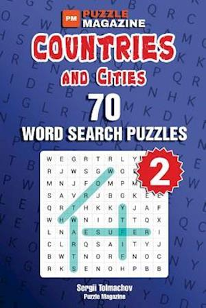 Bog, paperback Countries and Cities - 70 Word Search Puzzles (Volume 2) af Sergii Tolmachov