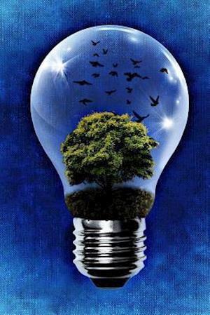 Bog, paperback Cool Lightbulb Terrarium af Unique Journal