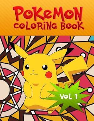 Bog, paperback Pokemon Coloring Book af Helen Aktanova