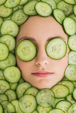Bog, paperback Cucumber Slice Facial Mask Journal - The Things We Do to Look Good af Cool Image