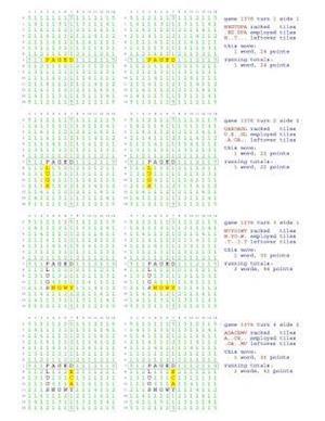 Bog, paperback Fifty Scrabble Box Scores Games 1351-1400 af MR Francis Gurtowski