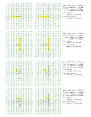 Bog, paperback Fifty Scrabble Box Scores Games 1601-1650 af MR Francis Gurtowski