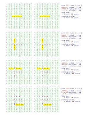 Bog, paperback Fifty Scrabble Box Scores Games 2601-2650 af MR Francis Gurtowski