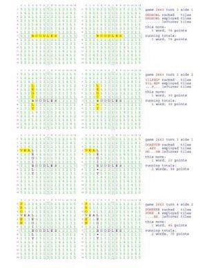 Bog, paperback Fifty Scrabble Box Scores Games 2651-2700 af MR Francis Gurtowski
