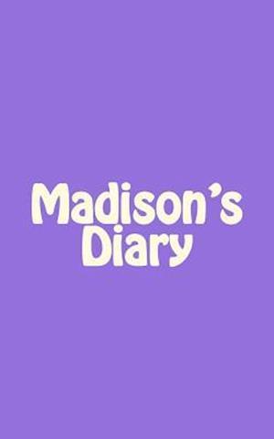 Bog, paperback Madison's Diary af Irreverent Journals