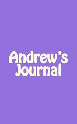 Bog, paperback Andrew's Journal af Irreverent Journals