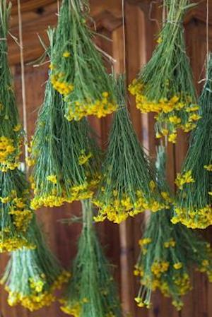 Bog, paperback Bunches of Drying Yellow Flowers af Cs Creations