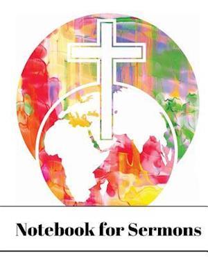 Bog, paperback Notebook for Sermons (World Cross) af Notandum Publishing