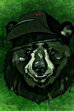 Bog, paperback A Bear in a Hat on Green af Unique Journal