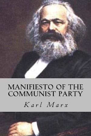 Bog, paperback Manifiesto of the Communist Party af Karl Marx