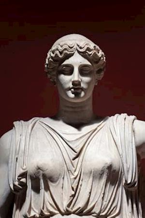 Bog, paperback Marble Sculpture of Ceres Roman Goddess Art Journal af Cs Creations