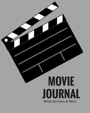 Bog, paperback Movie Journal Write Reviews & More af Signature Kisses