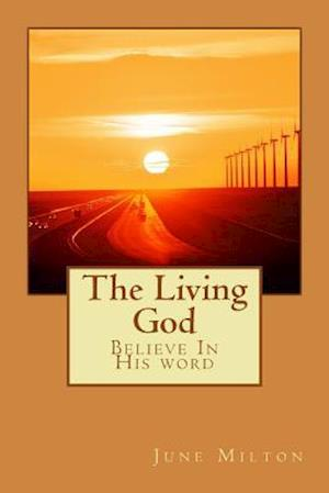 Bog, paperback The Living God af June Milton