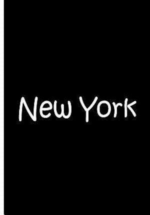 Bog, paperback New York - Black and White Notebook / Journal / Blank Lined Pages af Ethi Pike