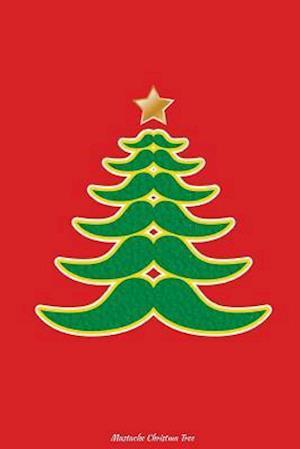 Bog, paperback Mustache Christmas Tree af Journals and More