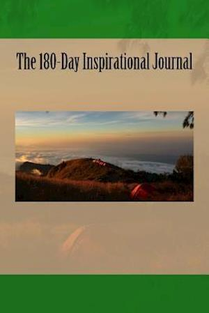 Bog, paperback The 180-Day Inspirational Journal af Inspirational Motivational Books