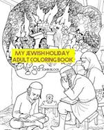 My Jewish Holiday Adult Coloring Book af John Block