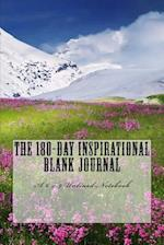 The 180-Day Inspirational Blank Journal af Inspirational Motivational Books