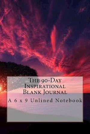 Bog, paperback The 90-Day Inspirational Blank Journal af Inspirational Motivational Books
