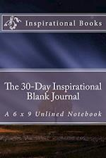 The 30-Day Inspirational Blank Journal af Inspirational Motivational Books
