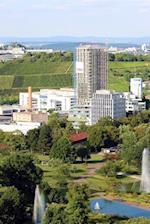 An Aerial View of Killesbergpark in Stuttgart, Germany