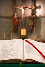 At the Altar of a Church in Germany